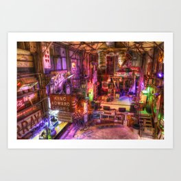 Shackup Inn Art Print