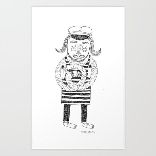 Captain Fausto Art Print