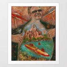 Victor's Mountain Art Print