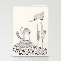 cartoons Stationery Cards featuring regular show by yohan sacre