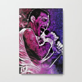 Rock God Metal Print