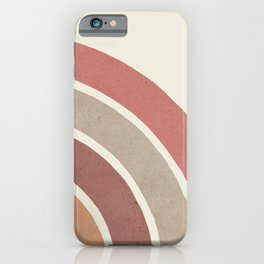 Abstract rainbow 2 iPhone Case