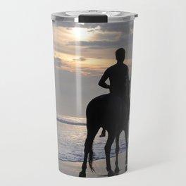 horse walk Travel Mug