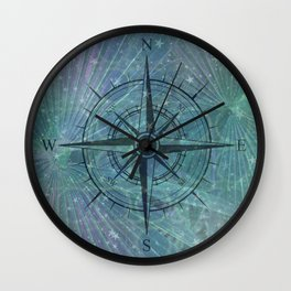 The Compass Wall Clock