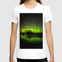 northern lights T-shirts featuring The Northern Lights by Nirupam Nigam