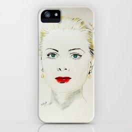 Grace Kelly iPhone Case