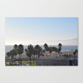 Venice Beach Palms Canvas Print