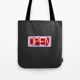 OPEN Tote Bag
