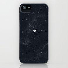 Gravity - Dark Blue iPhone SE Slim Case