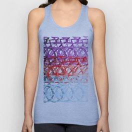 Bicycles palette Unisex Tank Top