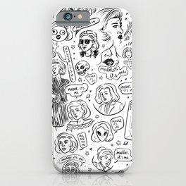 Mulder, It's Me iPhone Case