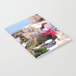 Santorini Charm Notebook
