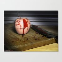 in the flesh Canvas Prints featuring Rotten Flesh by Andre Portee (Rosewood Film)