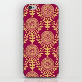 Paper Doily (RED) iPhone Skin