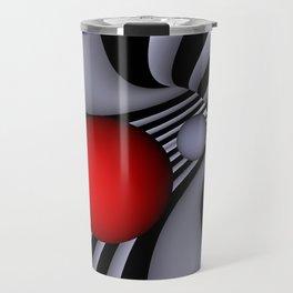 opart tunnel -4- Travel Mug