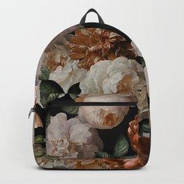 Golden Jan Davidsz. de Heem Roses Backpack