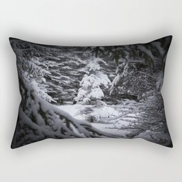 Through the Covered Trees Rectangular Pillow