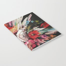 Floral Glitch II Notebook