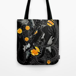 Death Crew Black Edition - Shenron Tote Bag