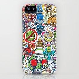 Kampu Kids iPhone Case