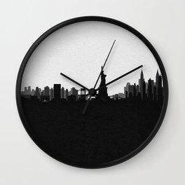 City Skylines: New York City (Alternative) Wall Clock