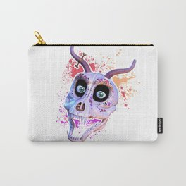 Ankou - colorful head Carry-All Pouch