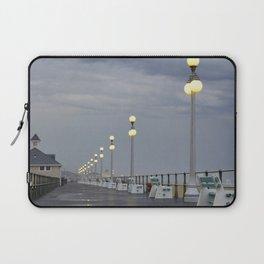 Rainy Boardwalk Laptop Sleeve