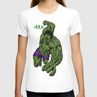 hulk T-shirts featuring Hulk by Kame Nico