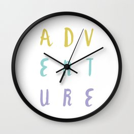 Adventure Seeker Wall Clock