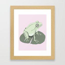 Odd Frog Framed Art Print