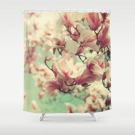 Magnolia Blossoms Shower Curtain