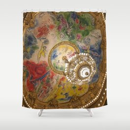Opera Garnier Paris Shower Curtain