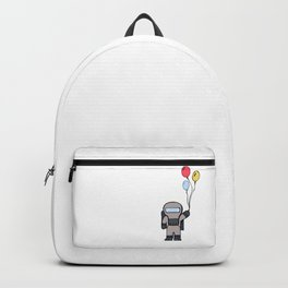 Cute Lil' Space Man - Illustration Backpack