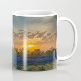 Daybreak In The Land Of Bluebonnets Coffee Mug