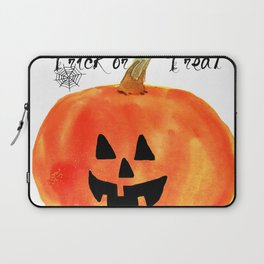Trick or Treat Jack-O-Lantern, Halloween Pumpkin Laptop Sleeve