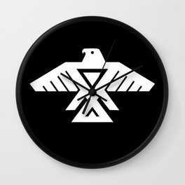 Thunderbird flag - Hi Def image Inverse edition Wall Clock