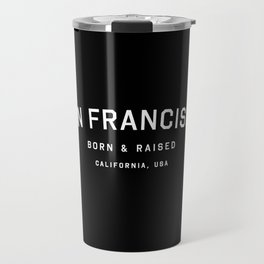 San Francisco - CA, USA (Black Arc) Travel Mug