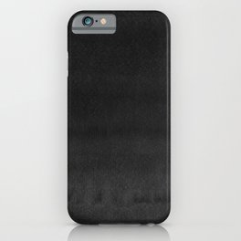Black Ink Art No 3 iPhone Case