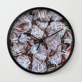 Puka Seashells Wall Clock