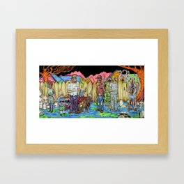 King of the Propane Framed Art Print