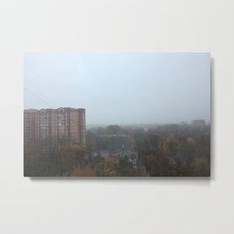 View from a Russian flat Metal Print