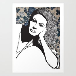 Frances Farmer Art Print