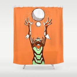 Imminent Doom Shower Curtain