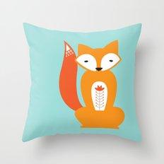 Ferdinand the Fox Throw Pillow