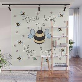 Bee friend Wall Mural