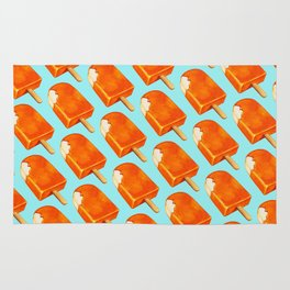 Popsicle Pattern - Creamsicle Rug
