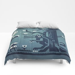 Midnight Menace Comforters