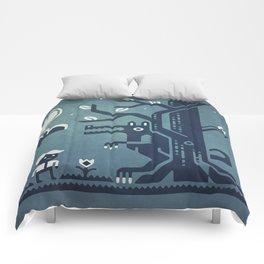 Midnight Menace Comforters