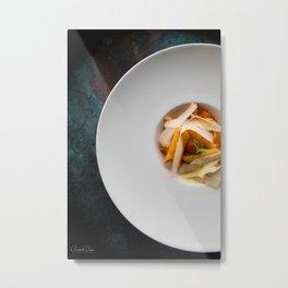 The Art of Food Pasta Heaven Metal Print