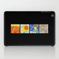terry fan iPad Cases featuring Fan by Bakal Evgeny